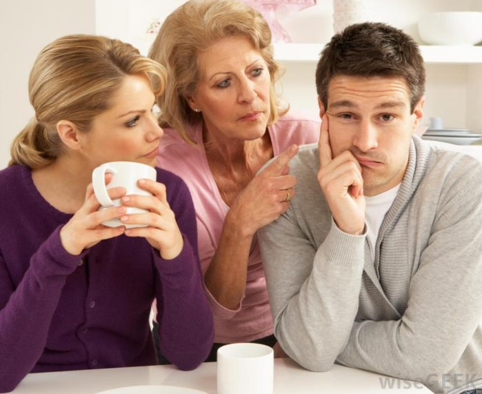 Problemas com sogra
