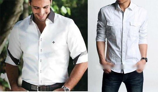 27aafc6fac Camisa Social X Camisa Casual - Mulher Digital