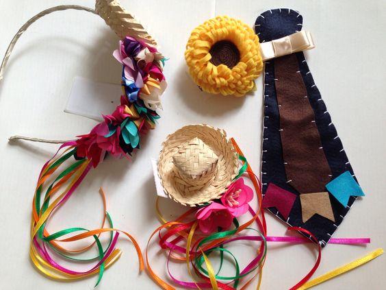 Como fazer fantasias de festa junina