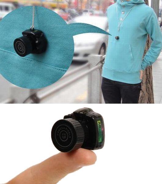 Menor câmera fotográfica do mundo