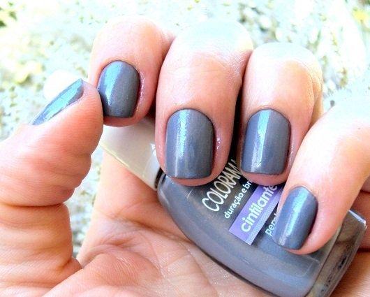 Esmaltes Colorama: esmalte cinza