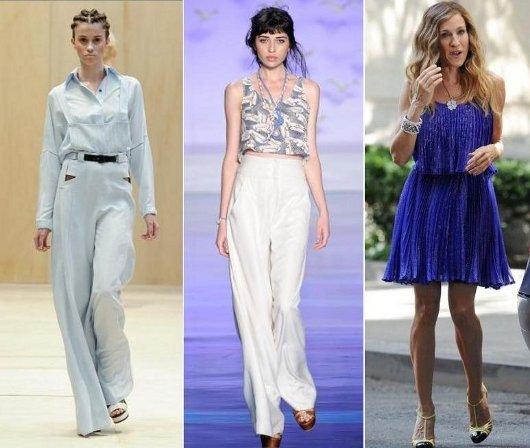 Moda primavera verão 2011-2012: inspiração nos anos 70