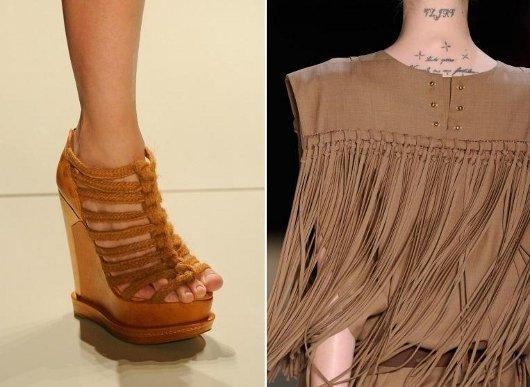 Moda primavera verão 2011-2012: franjas