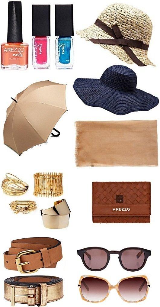 8bd20527d Acessórios Arezzo: esmaltes, chapéus, sombrinhas, lenços, carteiras,  cintos, bijuterias