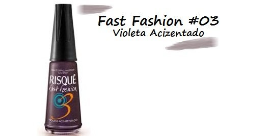 Fast Fashion #03: violeta acizentado