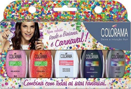 Colorama Carnaval: esmaltes para rodar a baiana