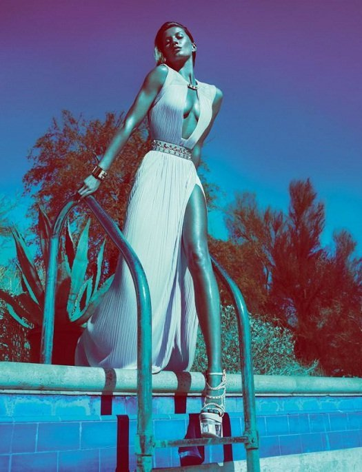 Primavera verão 2012 Versace com Bundchen