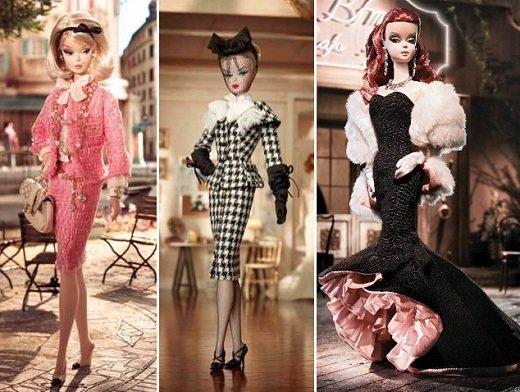 Barbie com inspiração na moda