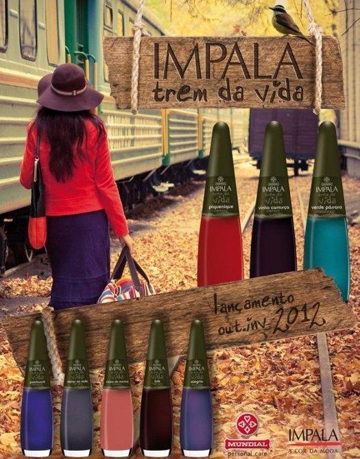"""Coleção Impala """"Trem da Vida"""""""