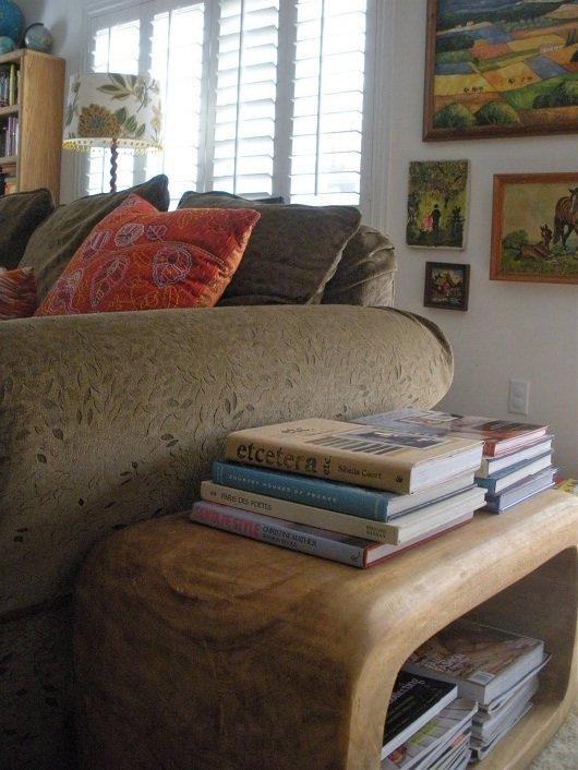 revista decoracao para ambientes pequenos : revista decoracao para ambientes pequenos:Decoração com porta revista: para guardar com estilo