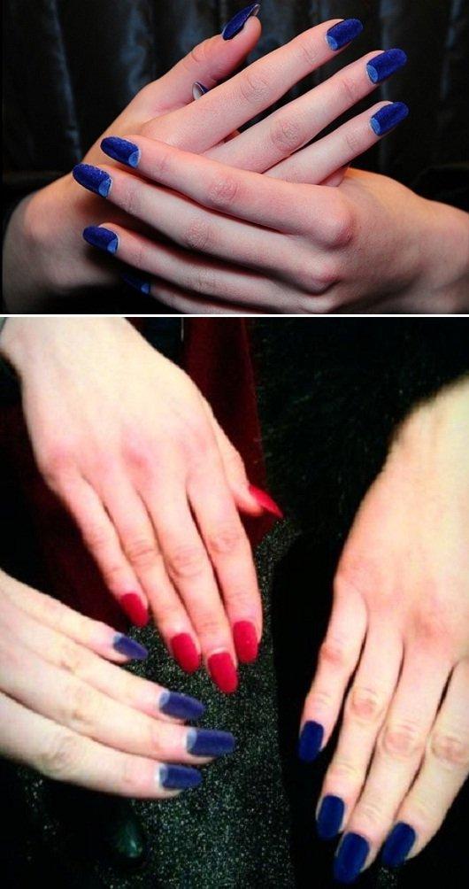 Velvet nail