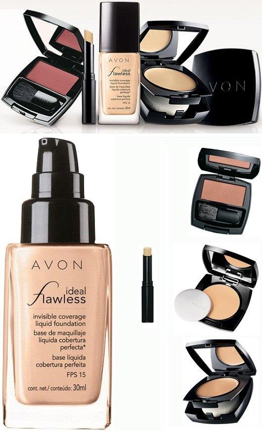 Maquiagem Avon: Ideal Flawless