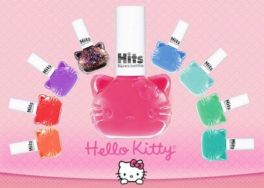 Esmaltes da Hello Kitty por Speciallità
