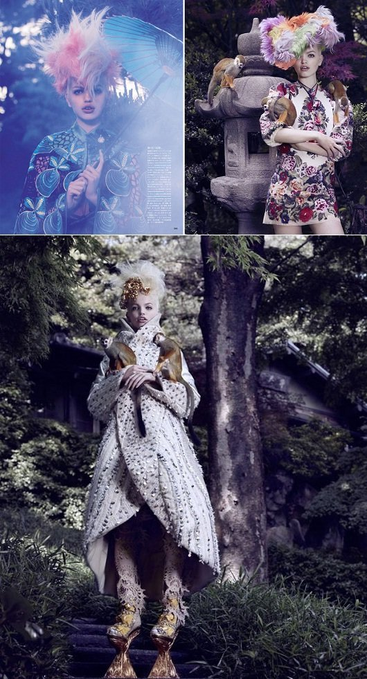 Moda japonesa: editorial da Vogue Japão