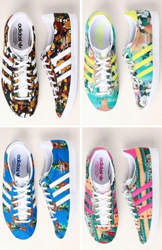 2b7e23d89dd Adidas Originals Farm  estilo esportivo estampado e florido