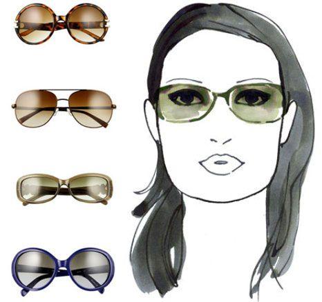 6baab90136e0f Qual o óculos ideal para cada tipo de rosto  - Mulher Digital