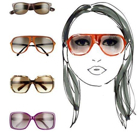 d747d332afa56 Qual o óculos ideal para cada tipo de rosto  - Mulher Digital