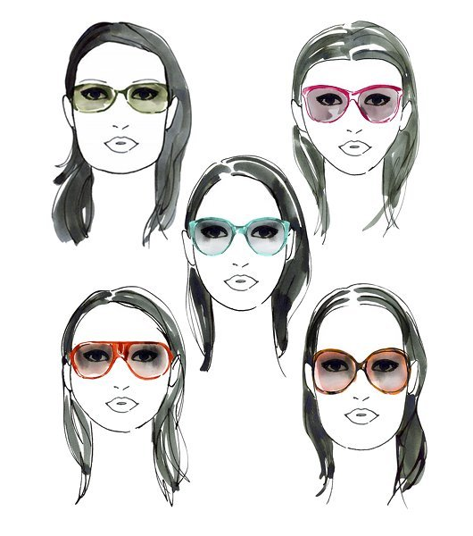 57fff7a1d8c76 Qual o óculos ideal para cada tipo de rosto  - Mulher Digital